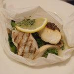 レストラン フィーネ - 鯛と鱸のグリエ