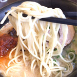 ごはんどき - 細麺(かた麺です)