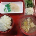 魚菜小売市場 - 朝食訪問4回目 合計610円