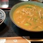 うどん 京屋 - またまたカレー蕎麦