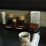 田園 亘理店 - お茶も美味しそう
