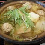 48806695 - 小結定食のチャンコ(醤油味)