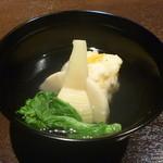 つとや - 料理写真:タケノコしんじょう