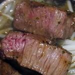 ビフテキ屋 まるり - 肉 UP