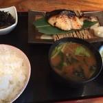 一粋 - 料理写真:さわらの西京焼き 1300円