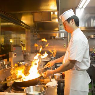 本場コックによる本格台湾料理を楽しむ