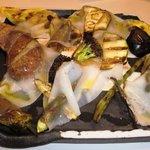 トスカネリア - 岡山県の田中さんが作ったこだわり有機野菜のロースト ラルド添え