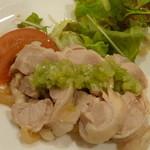 南園 - 鶏肉が美味しい冷製サラダ