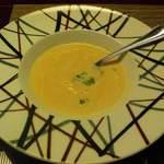 旬彩 おおかわ - スープの中にはふわふわなしんじょうが、、、