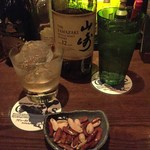 Oashisu - H28.3 山崎12年ロックチャージ辛口かきピー