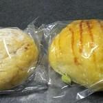 48814322 - クランベリー白パン、枝豆パン