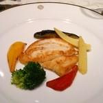資生堂パーラー - 本日の魚のポワレ ソースかける前