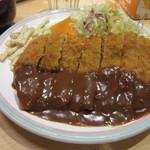 洋食屋 双平 - ビーフカツ定食(1,200円)
