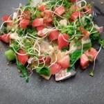 48816286 - 真鯛の皮炙りカルパッチョ前菜