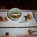 菊華荘 - 前菜(H.28.3)