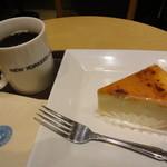 NEW YORKER'S Cafe - ブレンド+十勝クリームチーズブリュレ