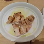 ブッフェ ザ フォレスト - オーダーすると切り分けてもらえる豚肉のグリル(食べ放題)