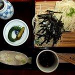 蕎陶庵 - めおとそば(そばと麦切り)