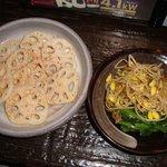 しげじ屋 - ナムルと焼レンコン