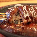 神戸山の手グリル - お肉たっぷりなジューシーハンバーグでした。
