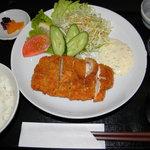 鶏辛家 - チキンカツ定食