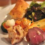 コッタボス - ランチの前菜