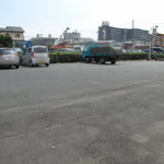 たえちゃんラーメン - 駐車場はお店の割りに広いです。