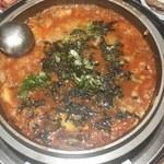 48821686 - 締めのチーズ入り雑炊