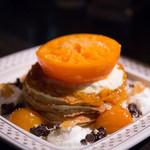 adito - せとかミカンと柑橘のチョコパンケーキ