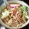 そば処 寿々喜 - 料理写真:そば処 寿々喜支店@多賀城 冷たい肉そば 2015年6月