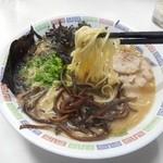 花山 - ラーメン(カジメ入り)2016.2