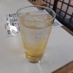 花山 - 梅酒ソーダ割り 2016.2