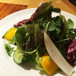 48826930 - 本日入荷野菜のミックスサラダ