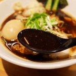 48827964 - 真っ黒なスープ