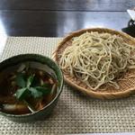蕎麦 阿き津 - 「つけ鴨」1850円