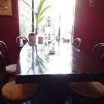 自家焙煎珈琲 珍竹林 - 落ち着いた雰囲気で、シャガールのリトグラフが沢山飾ってありました