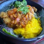 ひだ路元起 - 料理写真:鶏トマト丼