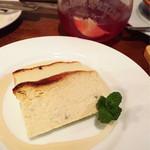 山芳ばる - 自家製ブルーチーズのチーズケーキ
