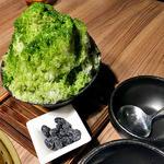 焼NIQ - コース料理(ふわ雪かき氷)(3人前)(2016年3月)