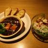 ジョグール カフェ - 料理写真:ビーフシチューセット ¥980(外税)