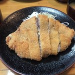 カツ吉 - 「餃子とんかつ」1,650円