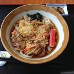 Yoshimi - 冷やしかき揚げうどん650円