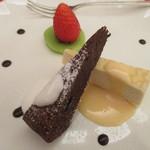 サンビーム - ガトーショコラとミルクレープ