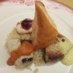 サンビーム - 真鯛、平目、鰤のソテー