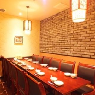 宴会・接待に最適な完全個室あり
