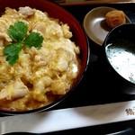 鶏三和 - 名古屋コーチン親子丼 1,059円