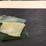 鮨 まつもと - ヒラメとホタテ