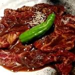 熟成焼肉 八億円 - 上ハラミ 980円×2