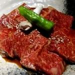 熟成焼肉 八億円 - 上ロース 1,280円×2