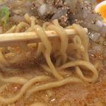 48837831 - 浅草開花楼の麺だそうです.ほんと美味い.